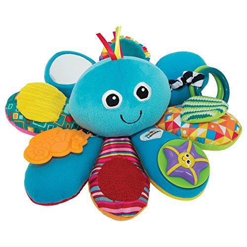 """Lamaze Babyspielzeug """"Octivity-Spielkrake"""" mehrfarbig - hochwertiges Kleinkindspielzeug - vereint Kuscheltier und Greifling - fördert die Motorik Ihres Kindes - ab 6 Monate"""