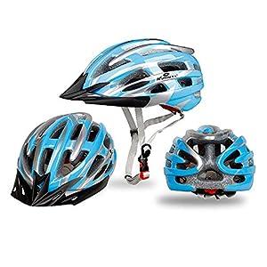 55-65cm Sporthelme Faltbarer Fahrradhelm Bike Folding Ultralight Unisex Fahrradhelme,TriLance Einstellbarer Sicherheitsschutz Leichter Fahrradhelm für Fahrradfahren Scooter Skate Mountain Road