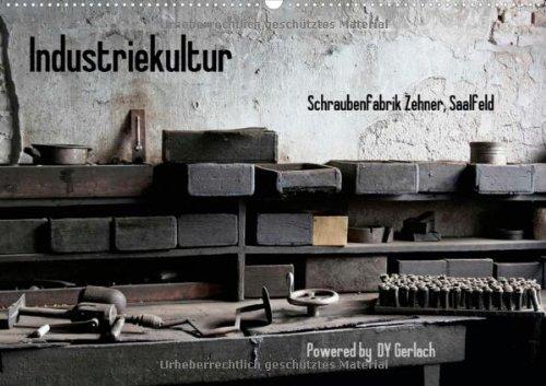 Industriekultur, Schraubenfabrik Zehner, Saalfeld (Wandkalender 2013 DIN A3 quer): Eindrücke einer Schraubenmanufaktur aus den Anfängen des 19. Monatskalender, 14 Seiten (CALVENDO Kunst) -
