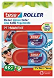 tesa 59820 - Pack de 2 mini rollers de colle