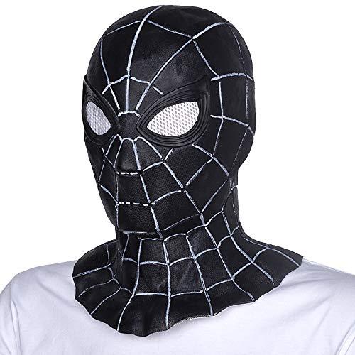 VAWAA Halloween Erwachsene Spider-Man Objektive Cosplay Kostüme Film Latex Maske (Spiderman Kostüm Filme)