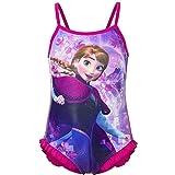 Disney Anna, costume da bagno per bambine, con motivo Anna o Elsa di Frozen Fuchsia 8 anni