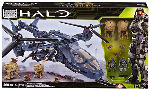 Mattel Mega Bloks 97173 - Halo Falcon Flood Hunter´s UNSC Covert OP´s