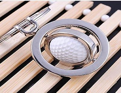LL-Golf® drehbarer Golfball Schlüsselanhänger