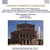 Operetta Overtures (Famous)