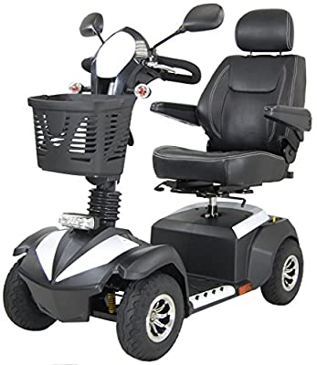 Drive Medical Envoy Plus 8mph Class 3 Mobility Scooter - White