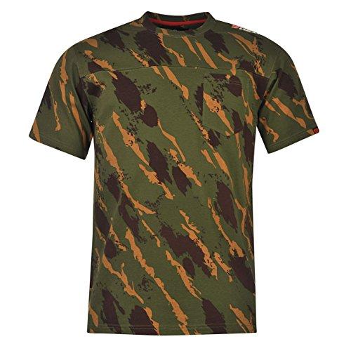 Diem Urban Unisex T Shirt Kurzarm Baumwolle Angeln Fischen Tee Top Fischer XL (Herren Baumwoll-performance-pocket Tee)