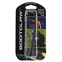 Bootclaw pocket mud scraper. Ideal for for football/rugby boots, golf shoes, trainers and walking boots. (black)