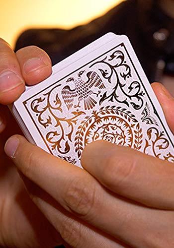 Shin Lim White Regalia Playing Cards -