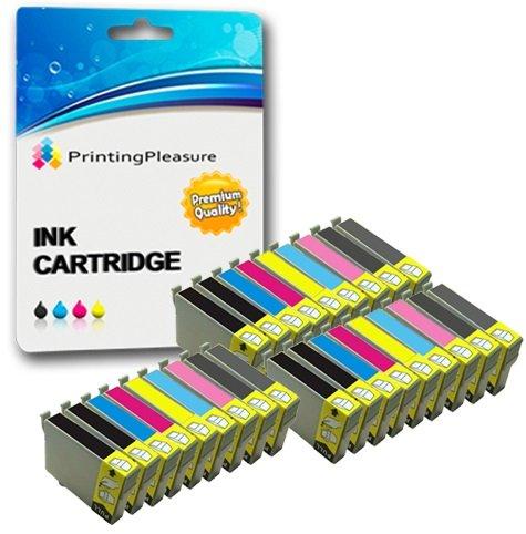 27 Druckerpatronen für Epson Stylus Photo 2100, 2100P, 2200 | kompatibel zu T0341, T0342, T0343, T0344, T0345, T0346, T0347, T0348 - Stylus 2200 Drucker Epson