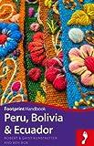 Front cover for the book Peru, Bolivia & Ecuador Handbook by Daisy Kunstaetter
