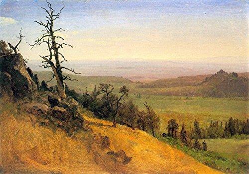 Das Museum Outlet-Wasatch Mountains Nebraska by Bierstadt-Poster (61x 81,3cm)