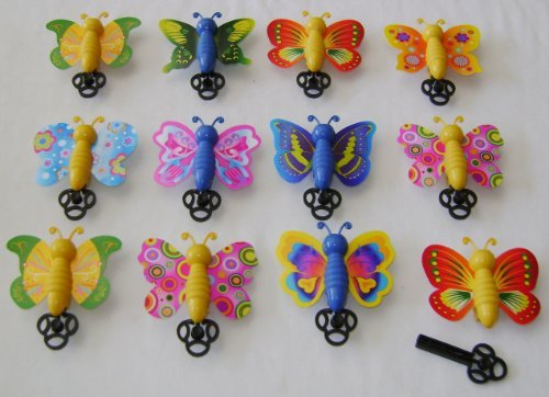 Party Bag Fillers by MunchieMoosKids 12 x Mini Smiley Springs