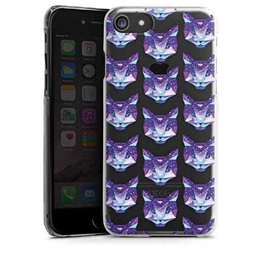 Apple iPhone X Silikon Hülle Case Schutzhülle Motiv ohne Hintergrund Katze Muster Hard Case transparent