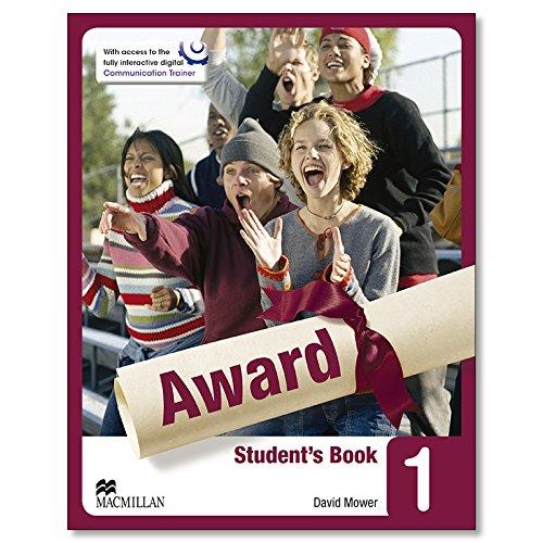 AWARD 1 Sts Pack Eng N/E (edicion Ingles) - 9780230479036