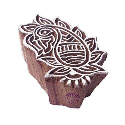 Royal Kraft Retro Original Blumen Entwürf Holz Stempel für Drucken (Eine Zoll Schaum-blöcke)