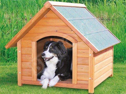 Cuccia Termica Per Cani Da Esterno.Beltom Cuccia M In Legno Per Cane Cani Di Taglia Medio Piccola Tendina Termica In Pvc Piedini Regolabili In Altezza Nuova Cucce Da Esterno