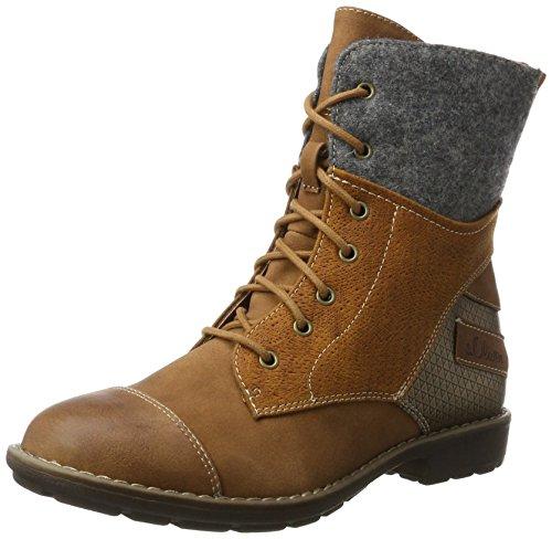 201 Combat Boots, Braun (Cognac), 36 EU ()