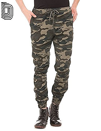Devil Men's Camouflage Army Jogger (Track Pant)34  available at amazon for Rs.895