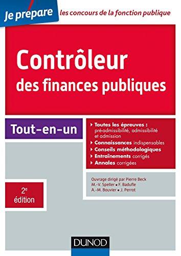 Contrôleur des finances publiques - Concours externe et interne - 2e éd. : Tout-en-un (Concours fonction publique)