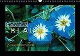 Goethes Blau. Gedanken zur Farbe (Wandkalender 2019 DIN A3 quer): Die schönsten Blautöne aus der Natur, charakterisiert von Goethe. (Monatskalender, 14 Seiten ) (CALVENDO Natur)