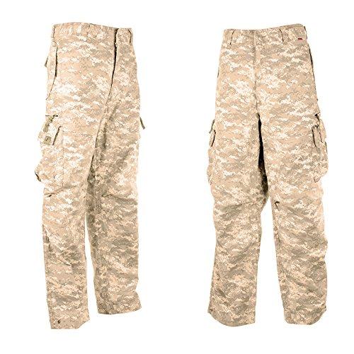 Dry idrogeno uomo cargo Combat pantaloni 45019-100% cotone qualità premium Combat pantaloni Digital Desert Camo X-Small