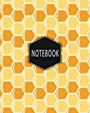 notebook: Hexagonal Graph Paper Notebook/150 pages/8x10 inch/structuring sketches/Chemistry (Geo Design, Band 1)