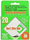 Don't Bite Me DBMP20 Pack de 20 patches anti-insectes