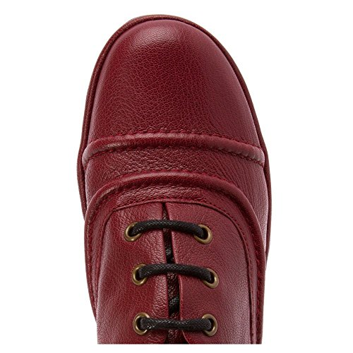 Fly London - Rako, Scarpe stringate basse brogue Donna CORDOBA RED