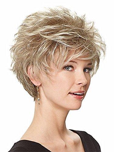 Eva Gabor Perk Synthetic Wig (305C Sugared Smoke) by Eva Gabor - Gabor Perücken Perücke