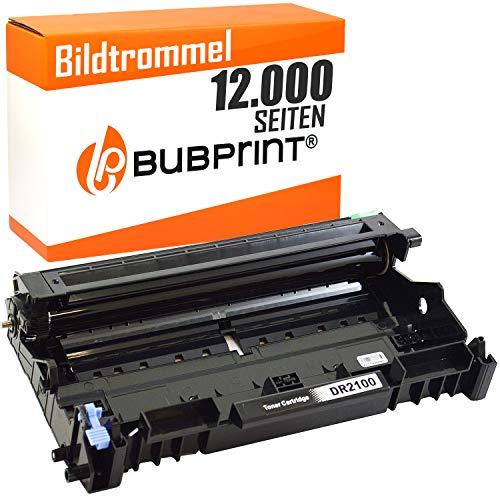 Lj2200 Drucker (Bubprint Trommel kompatibel für Brother DR-2100 DR 2100 für DCP-7030 DCP-7040 HL-2140 HL-2150N HL-2170W MFC-7320 MFC-7440N MFC-7840W Schwarz 12000 S.)