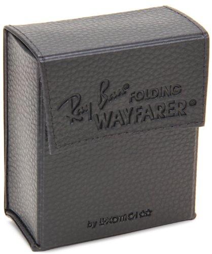 Ray-Ban - Lunette de soleil RB4105 Wayfarer Folding Wayfarer 50 mm Noir