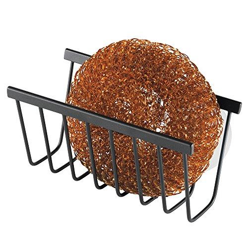 mdesign-support-dvier-savon-ponge-et-tampon-rcurer-noir-mat