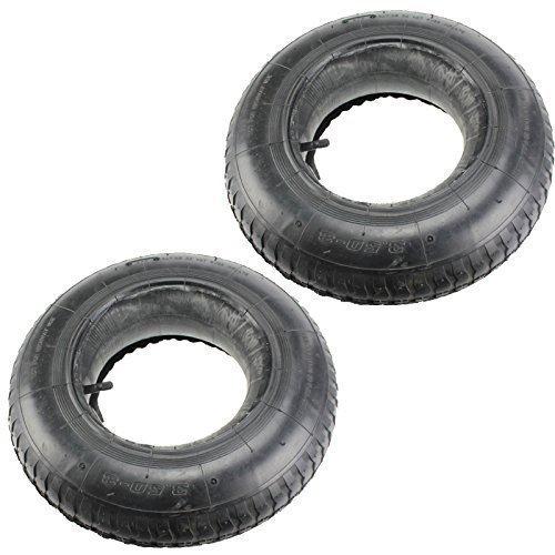 First4Spares - Chambre à air caoutchouc et pneu brouette 3.50-8 35 PSi X2
