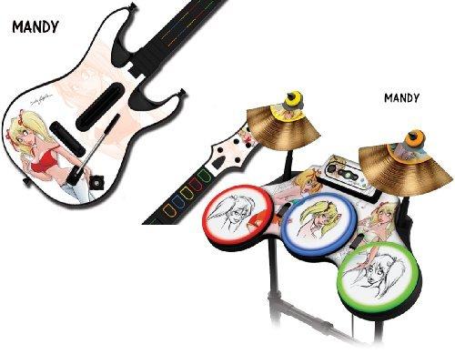 Schutzfolien für Guitar Hero 4