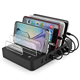 8-Port-laadstation Desk Organizer Multiple Device afneembare USB-laadstation,  2.4A Universele-F...