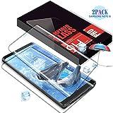 Verre Trempé Galaxy Note 8, SGIN [Lot de 2] Couverture Complète Film Protection D'écran en Verre Trempé, Ultra Résistant Anti-scratch Protecteur d'écran pour Samsung Galaxy Note 8 - Transparent