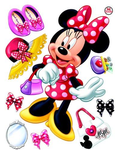 Bebegavroche Stickers géant La Boutique de Minnie Mouse Disney