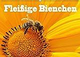 Fleißige Bienchen (Wandkalender 2018 DIN A2 quer): Fotos von Honigbienen bei Ihrer fleißigen Arbeit (Monatskalender, 14 Seite