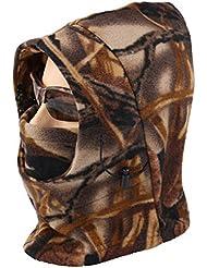Acide tactique® Temps Froid en polaire Camouflage Cagoule Masque complet capuche camouflage–Airsoft Champ