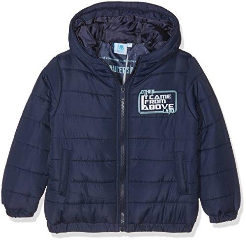Fabtastics giacca trapuntata con cappuccio disney star wars darth vader per ragazzi, blu (peacoat), 104