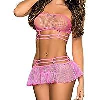 Amlaiworld Lencería de Mujer Ropa de Dormir Ropa Interior de tentación Vestido de Babydoll Sujetador de tentación.