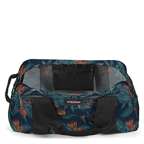 Eastpak Terminal Bagaglio con Ruote, 88 Litri, Blu (Midnight) Multicolore (Orange Brize)