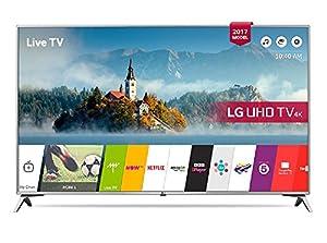 LG 43UJ651V 43 Inch SMART 4K Ultra HD HDR LED TV Freeview Play USB Record