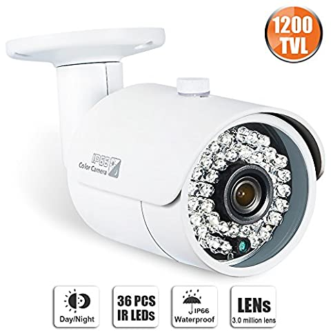 Swinway CCTV Camera 1200TVL Home Security Camera