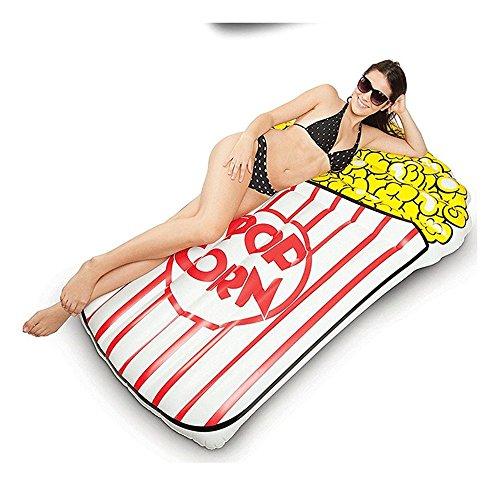 Zhangjianjun 170cm gonfiabile piscina popcorn popcorn galleggiante piscina galleggiante swan per tubo per adulti zattera anello di nuoto estate acqua toy
