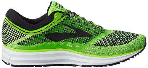 Brooks Revel, Scarpe da Running Uomo Blu (Green/Black/White 1D340)