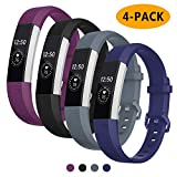 Vitty for Fitbit Alta/Alta HR Wrist Straps for Women and Men, Fitbit Alta/Alta Bands Adjustable Replacement Silicone Sport Wristband for Fitbit Alta/Alta HR,Large(6.7