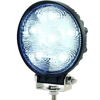 AdLuminis LED Arbeitsscheinwerfer, funkentstörte Arbeitsleuchte rund, 24 Watt 1440 Lumen, 12V 24V, 30°, IP67 Schutzklasse, Zusatzscheinwerfer, Rückfahrscheinwerfer, Suchscheinwerfer