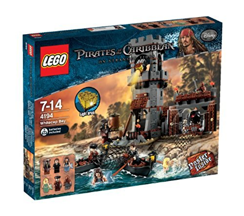 flying dutchman lego LEGO Pirates of the Caribbean 4194 - Whitecap Bay